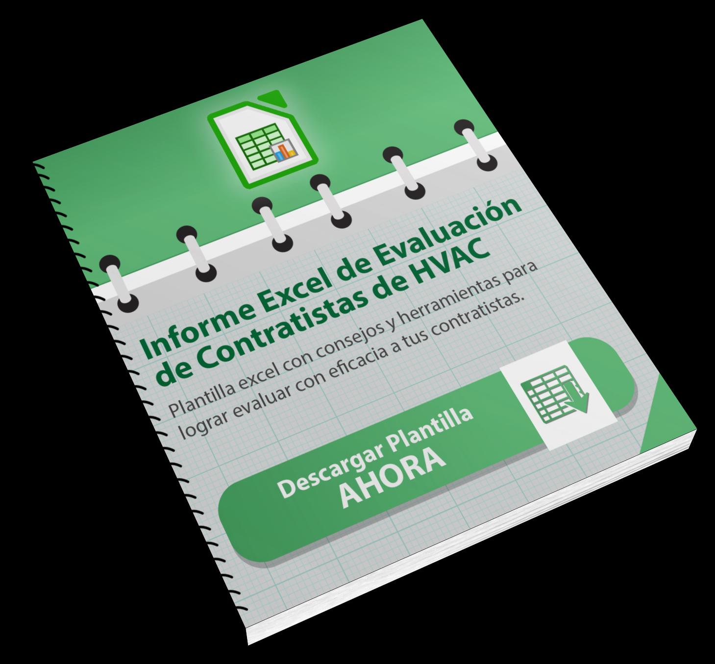 Informe Excel de Evaluación de Contratistas HVAC