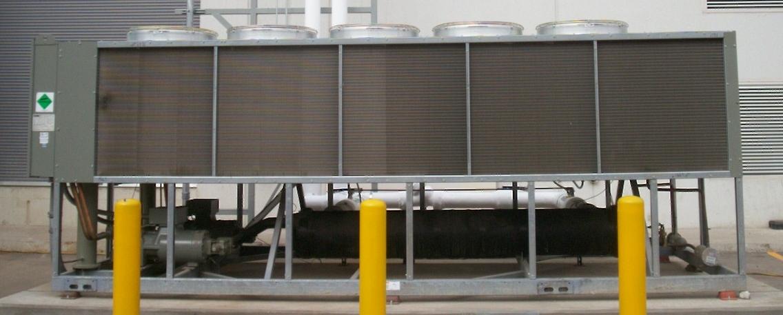 Sistemas de aire acondicionado enfriados por agua